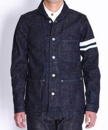 03-087 16oz Selvedge Texture Denim Jacket