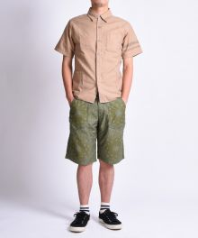 COM-2 LUCKY PACK MILITARY WAIST POCKET SHIRTS/LASER PROCESSING SHORTS