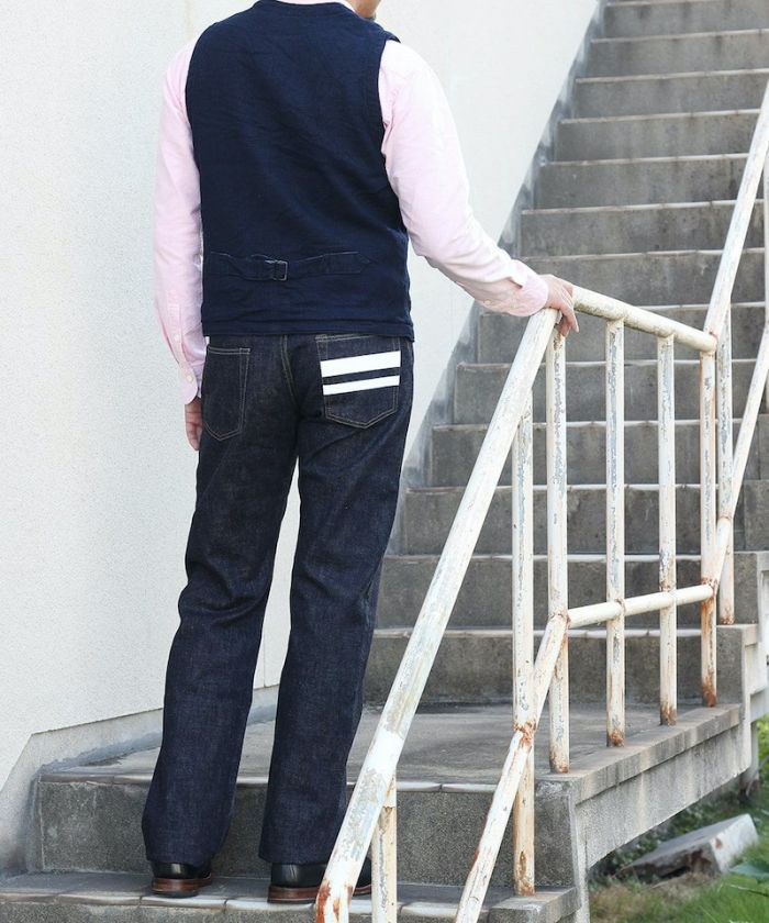 0805SP Going To Battle (GTB) Slim Straight Jeans (Button Fly) [size 28-36]