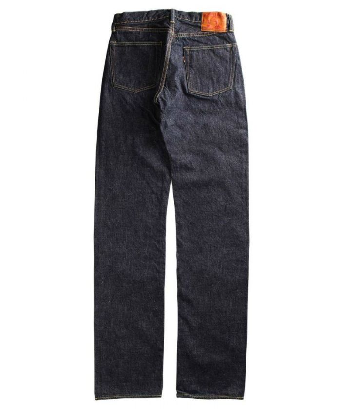 0901 15.7oz Zimbabwe Cotton Unsanforized Denim Classic Straight Jeans (Button Fly) [size 28-36]