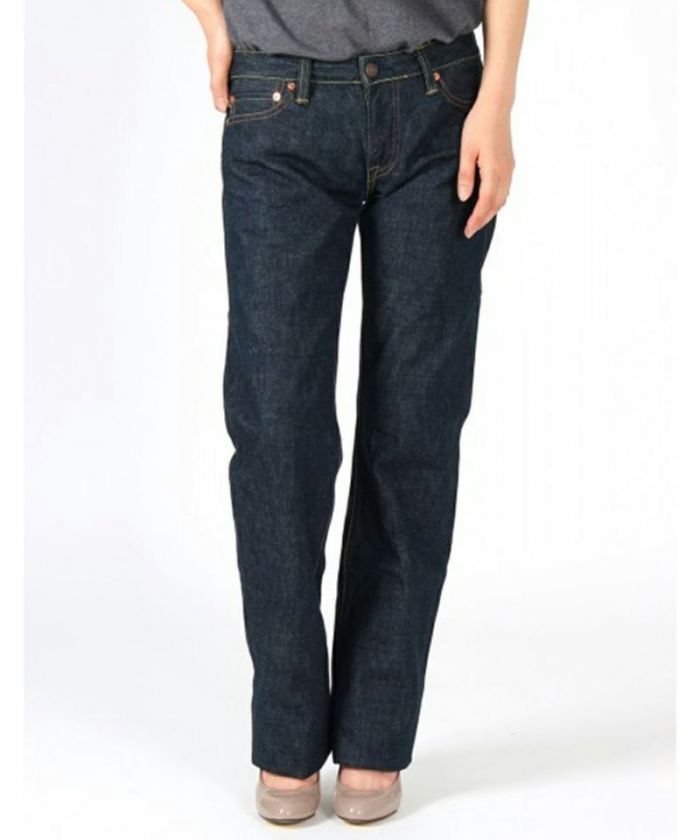 GL003MZ 14.7oz Copper Label Ladies Natural Straight Jeans (Zipper Fly) (size 24-32)