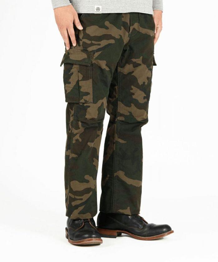 01-057 Cordura Nylon Camo Cargo Pants