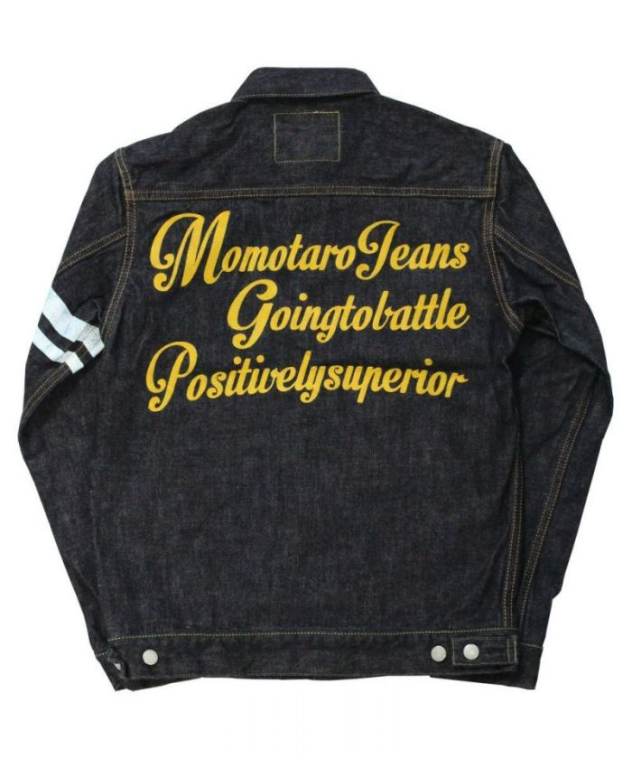 2105SP-2 15.7oz Zimbabwe Cotton Denim Going to Battle (GTB) Type 2nd Back Embroidery Jacket