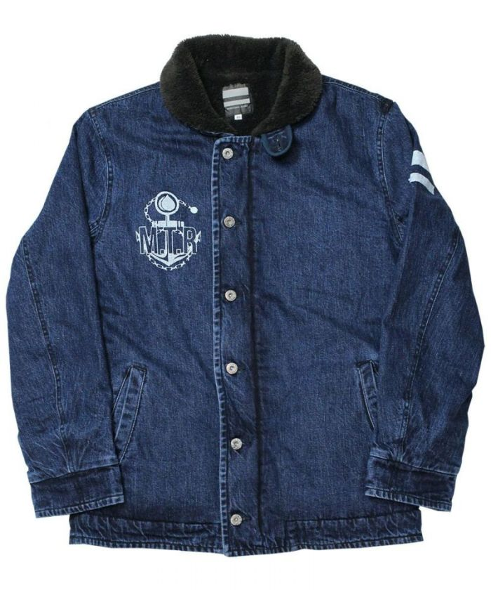 03-027 Going to Battle (GTB) Denim N-1 Deck Jacket