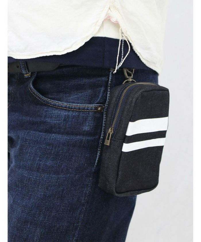 B-21 Denim Hanging Pouch