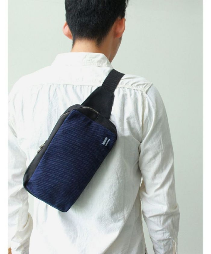B-16 Sashiko Shoulder Bag