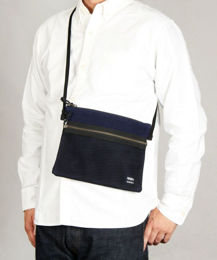 B-27 Sashiko Shoulder Bag