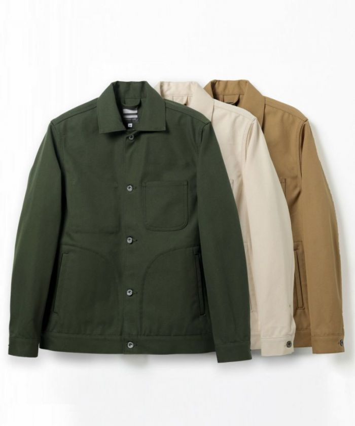 03-113 Water-repellent Canvas Work Jacket