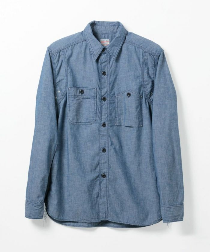 05-221 5oz Selvedge Chambray Vintage Work Shirt