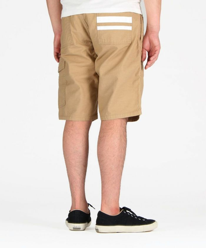 02-054 Back Satin Military Going To Battle Label (GTB) Shorts