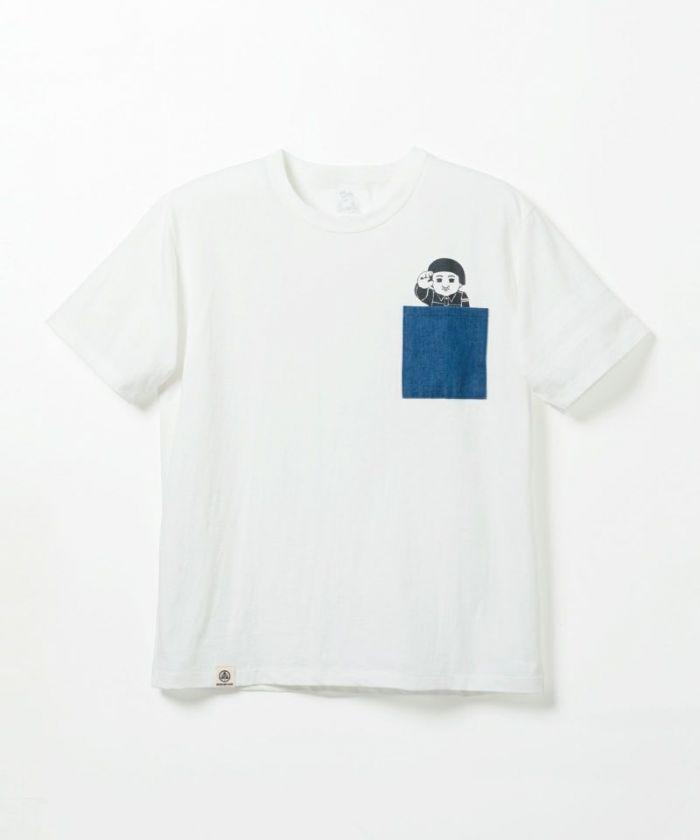 07-066 Pocket Momotaro T-shirt
