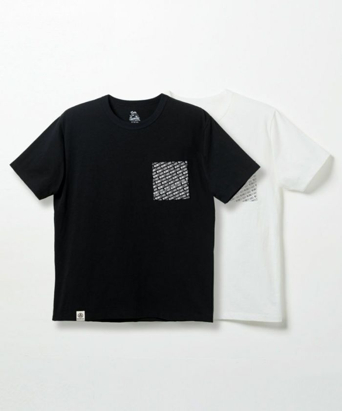 07-068 8.2oz Zimbabwe Cotton Print Pocket T-shirt