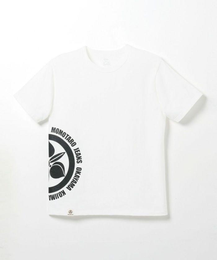 07-070 Side Emblem Momotaro Jeans Printed T-shirt