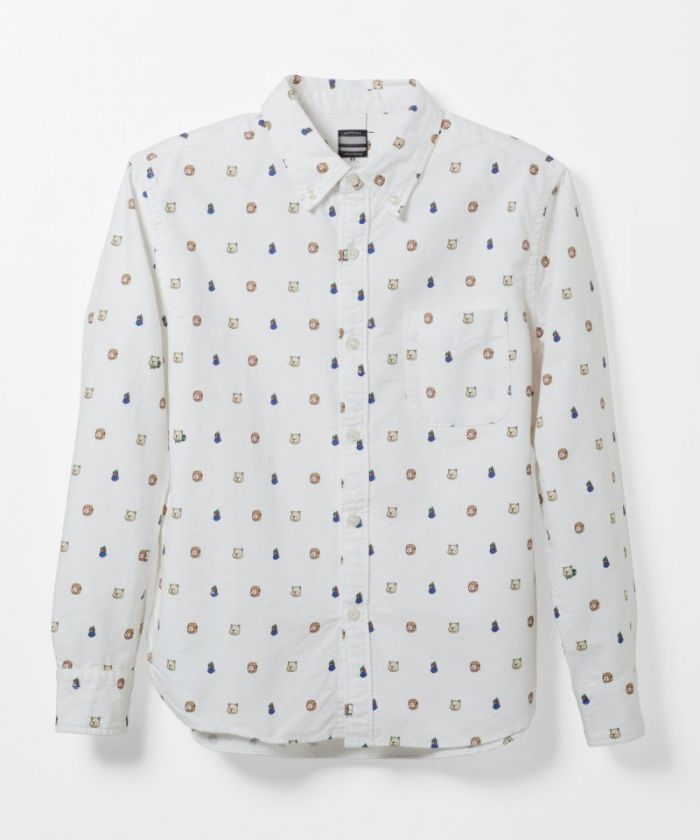 05-138 Original Print Oxford Shirt