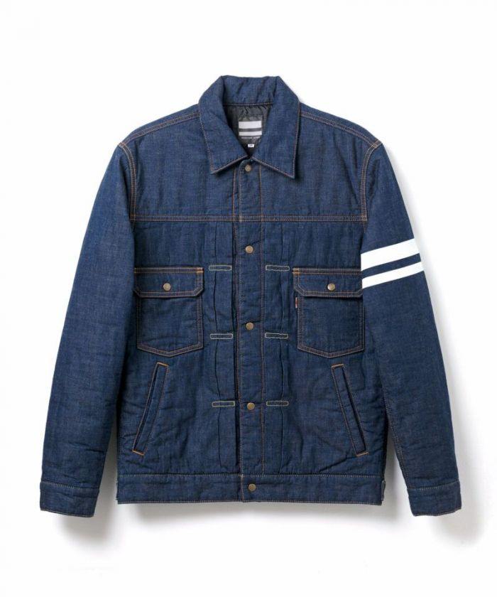 03-134 Going To Battle (GTB) Denim Batting Jacket