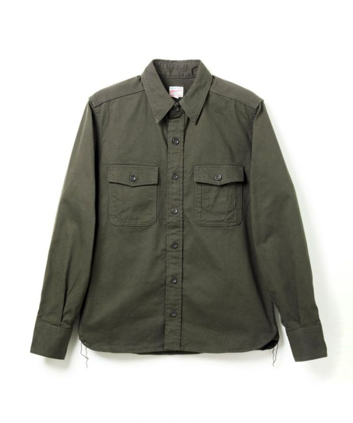 05-237 Selvedge Chino Work Shirt