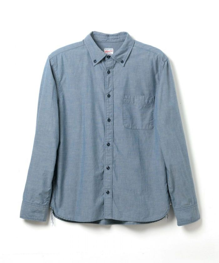 05-248 Chambray Button-down Shirt (Classic Fit)
