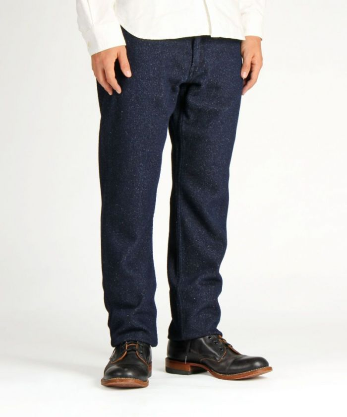 01-070 Cotton / Wool / Silk Tight Trouser