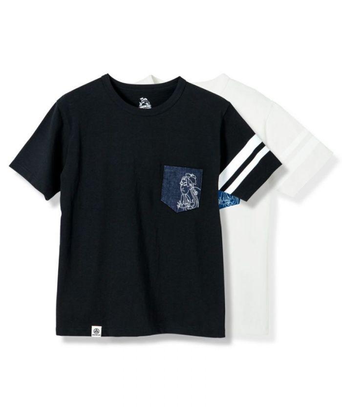 07-086-M Going To Battle (GTB) Momotaro T-shirt
