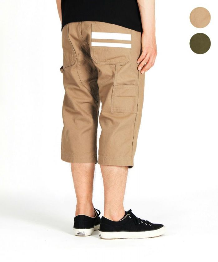 02-063 Going To Battle (GTB) Duck Painter Cropped Pants