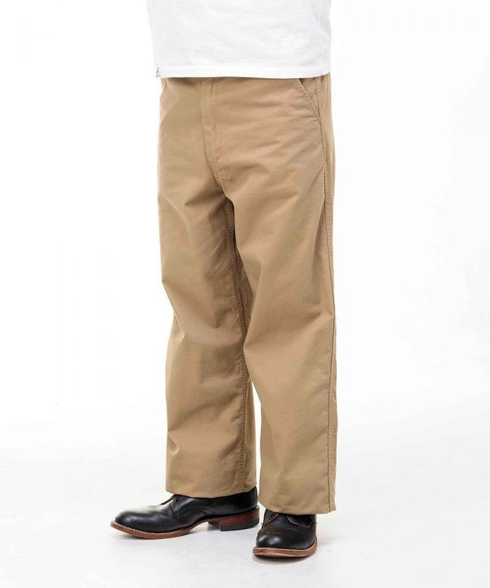 01-091 Loose Twill Trousers