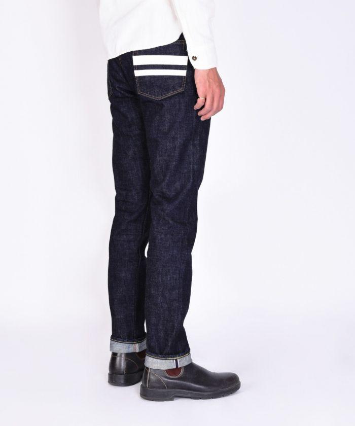 0105SPK 15.7oz Zimbabwe Cotton Denim Going to Battle (GTB) Narrow Tapered Jeans (Button Fly) [size 38-42]