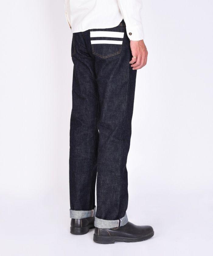 0205SP 15.7oz Zimbabwe Cotton Denim Going to Battle (GTB) Slim Straight Jeans (Button Fly) [size 28-36]