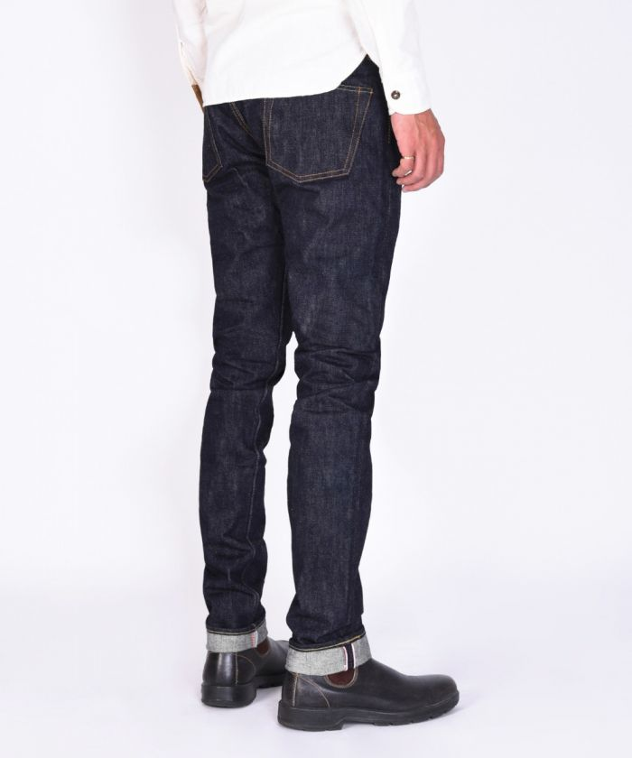 0301-20 Shrink to Fit 20oz Unsanforized Tight Tapered One Wash Jeans