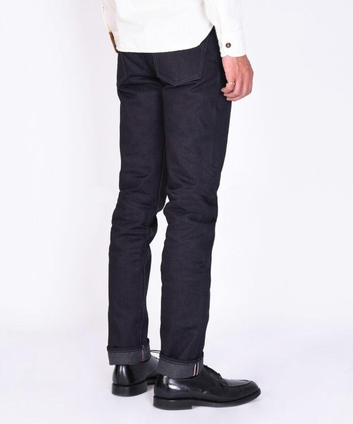 0305-2G 18oz ID×GRAY Selvedge Denim Tight Tapered Jeans