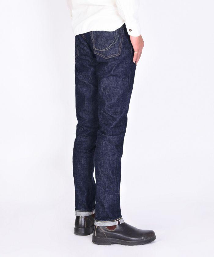 0305-C 14.7oz Copper Label Tight Tapered Jeans