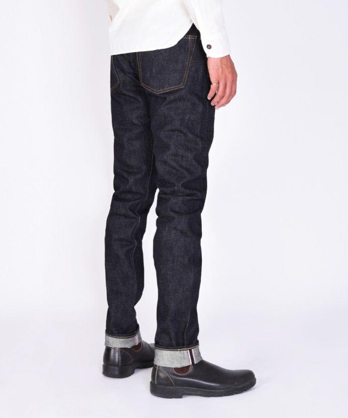 0306-18ID 18oz Selvedge Denim Tight Tapered Jeans
