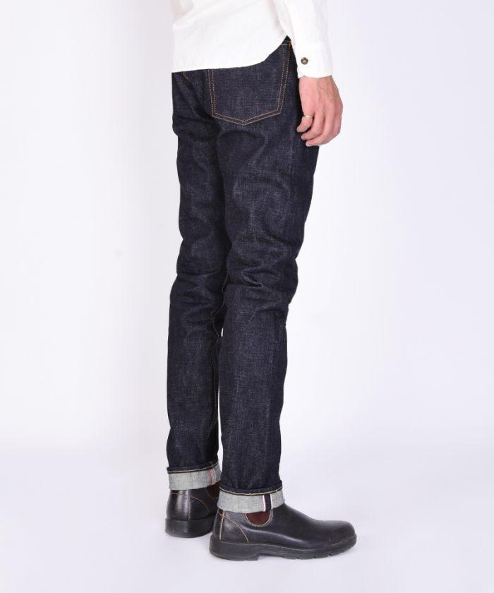 0405-18ID 18oz Selvedge Denim High Tapered Jeans