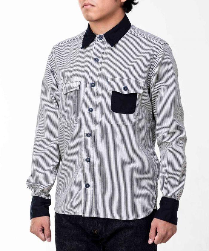 05-307 Combination Stripe Shirt