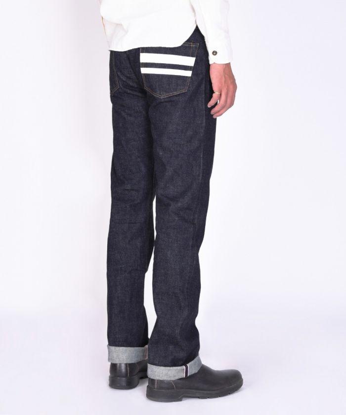 0705SPK 15.7oz Zimbabwe Cotton Denim Going to Battle (GTB) Tight Straight Jeans (Button Fly) [size 38-42]