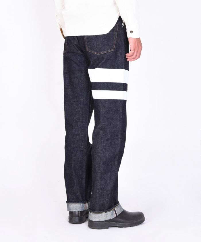 0905BP 15.7oz Zimbabwe Cotton Denim Big Going to Battle (GTB) Classic Straight Jeans