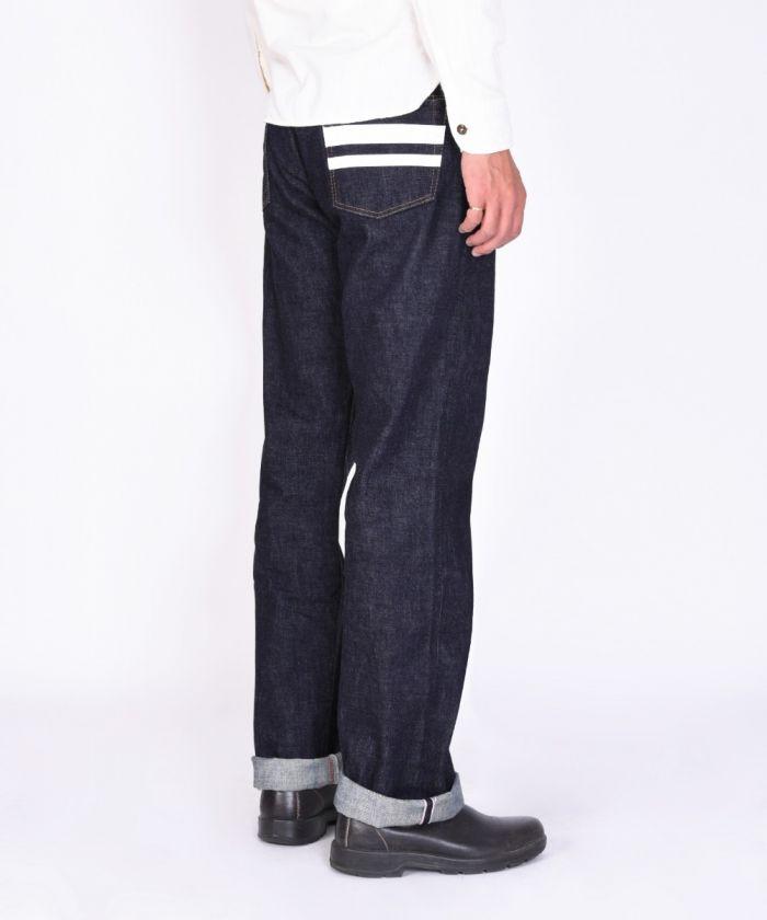 0905SPK 15.7oz Zimbabwe Cotton Denim Going to Battle (GTB) Classic Straight Jeans (Button Fly) [size 38-42]
