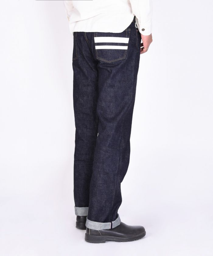 1006SPZ 15.7oz Going to Battle (GTB) Middle Straight Jeans (Zipper Fly) [size 28-36]