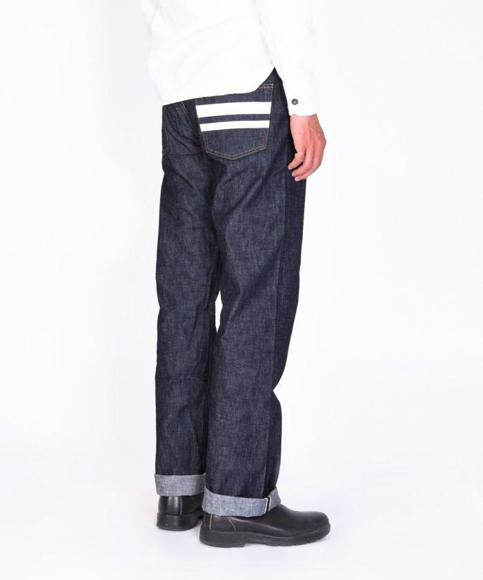 1101SP 10oz Zimbabwe Cotton Denim Going to Battle (GTB) Middle Straight Jeans