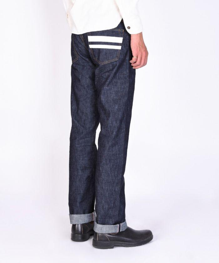 1705SP 10oz Zimbabwe Cotton Denim Going to Battle (GTB) Tight Straight Jeans