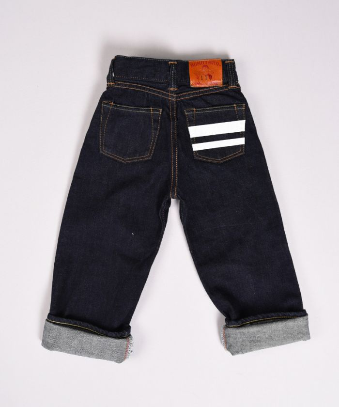 K905SP 12oz Going to Battle (GTB) Selvedge Denim Classic Straight Kids Jeans