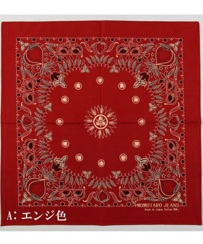 AS-60 Momotaro Jeans Original Bandana