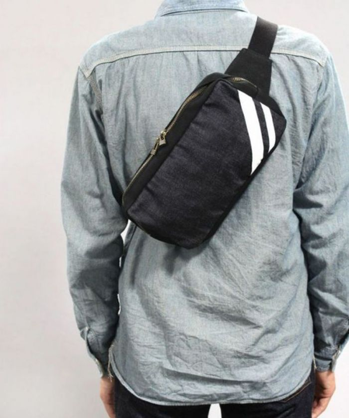 B-12 Denim Going To Battle (GTB) Shoulder Bag