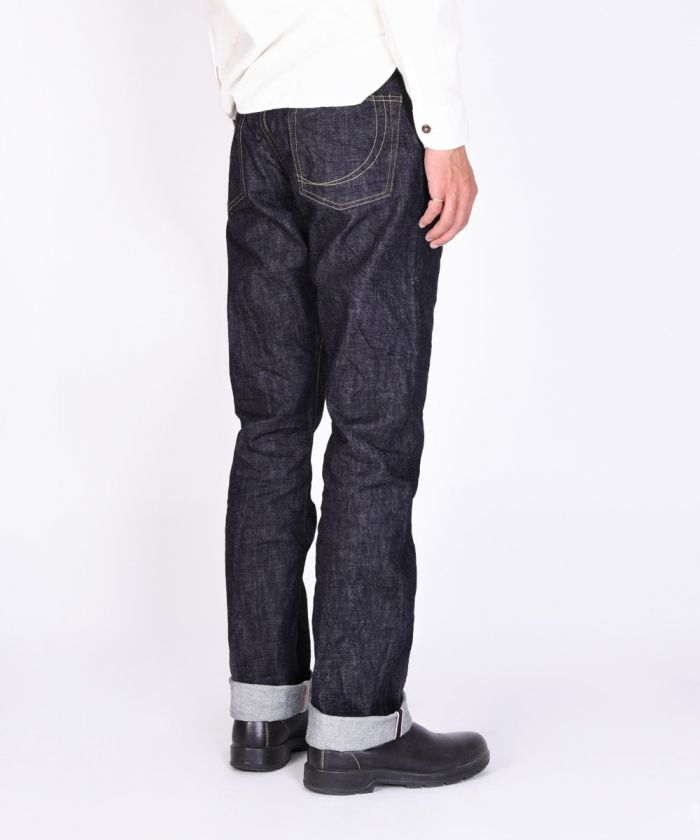 G014-MB 14.7oz Copper Label Slim Tapered Jeans (Button Fly) [size 28-36]