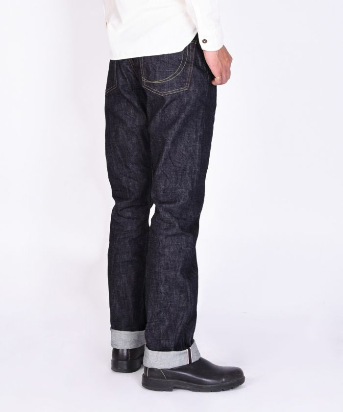 G014-MZK 14.7oz Copper Label Slim Tapered Jeans (Zipper Fly) [size 38-42]