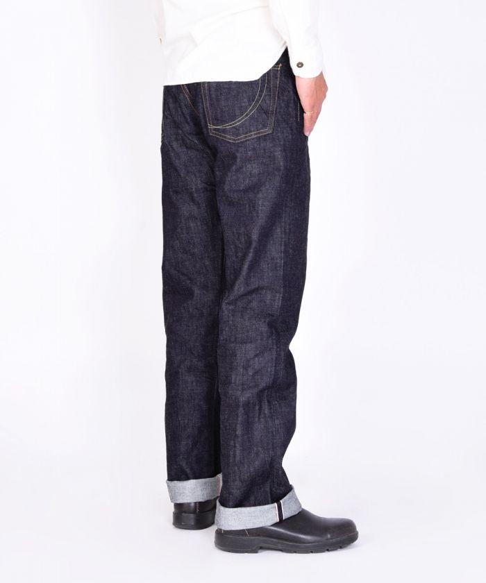G019-MZ 14.7oz Copper Label Classic Straight Jeans (Zipper Fly) [size 28-36]