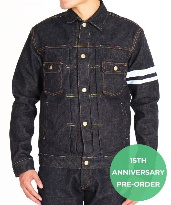 "15THL21 15th Anniversary 15.7oz ""Left-Hand Twill"" Denim Jacket"