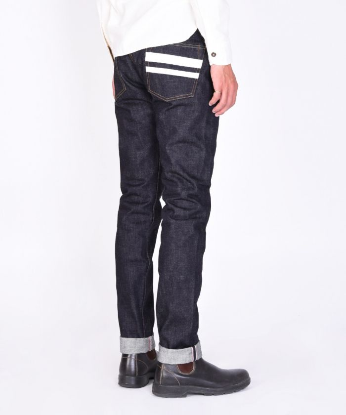 P0306-18SP Going To Battle (GTB) 18oz Selvedge Denim Tight Tapered Jeans