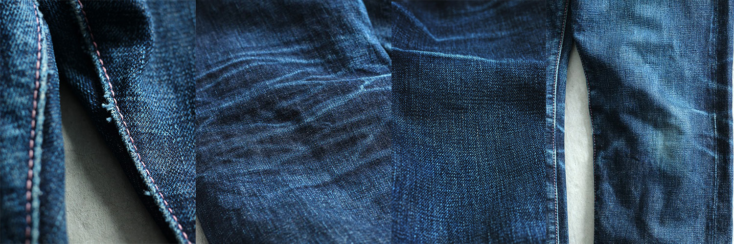 0105SP 15.7OZ ZIMBABWE COTTON DENIM GOING TO BATTLE (GTB) NARROW TAPERED JEANS (BUTTON FLY)